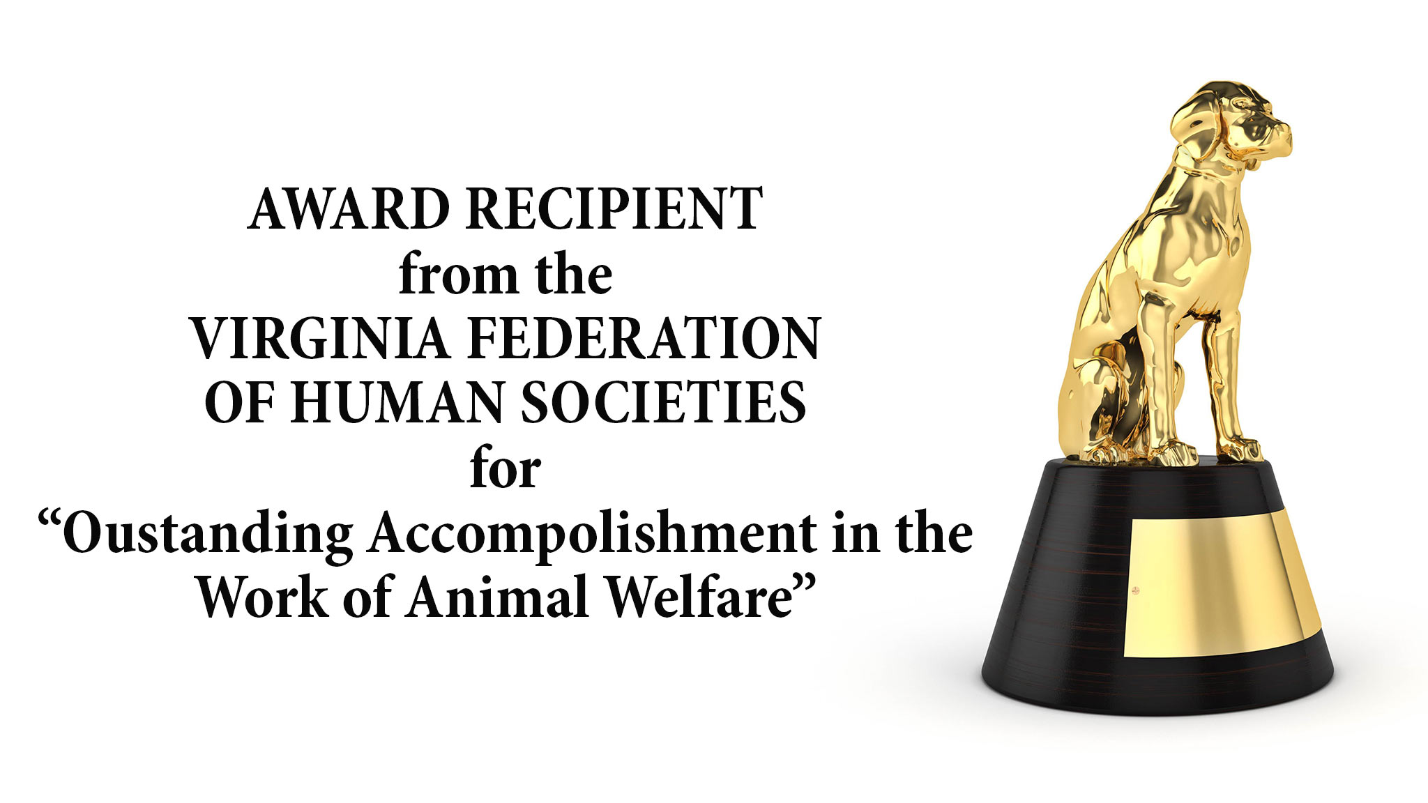 Animal Welfare Award