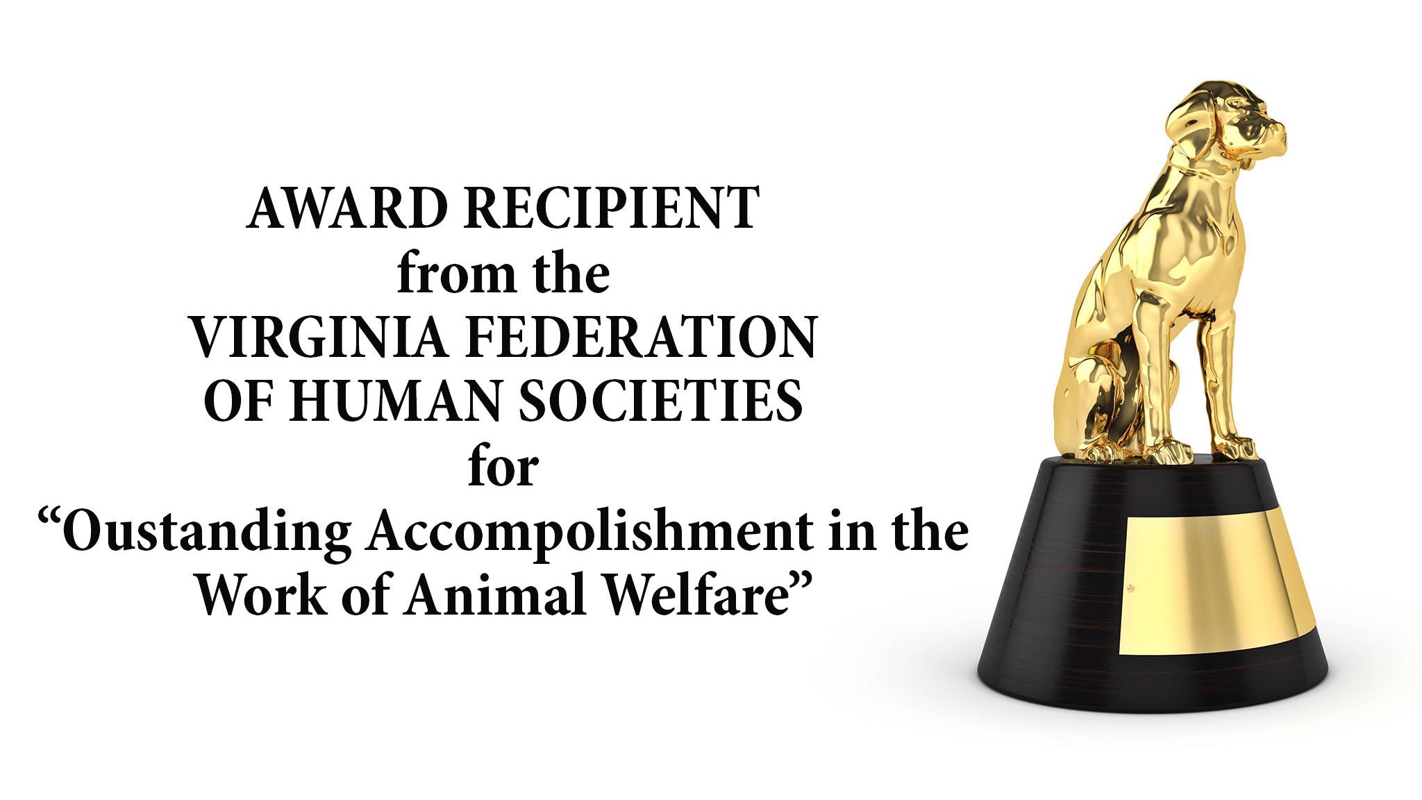 Animal Welfare Award